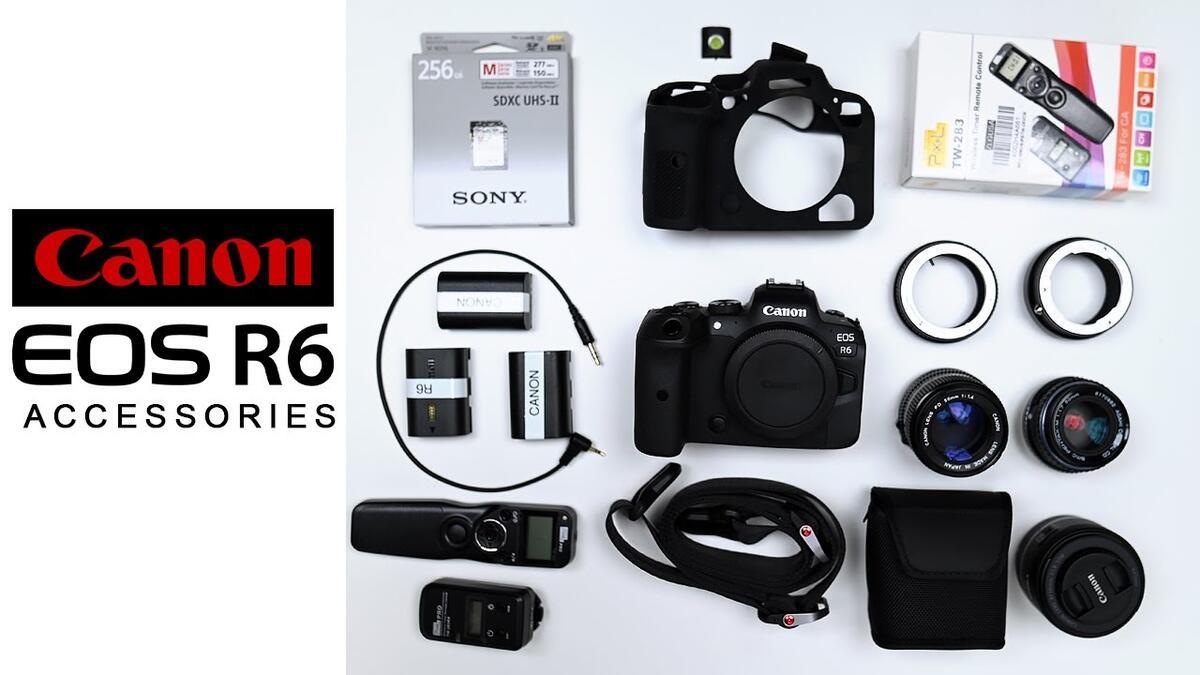 Best Canon EOS R6 Accessories