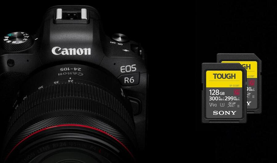 Best Memory Cards for Canon EOS R6
