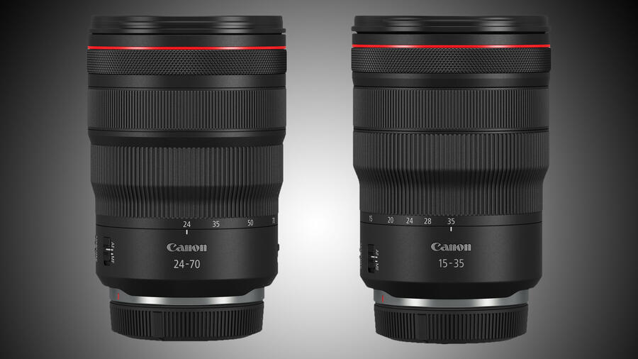 In Stock Again : Canon RF 15-35mm f/2.8L IS USM & RF 24-70mm f/2.8L IS USM Lenses