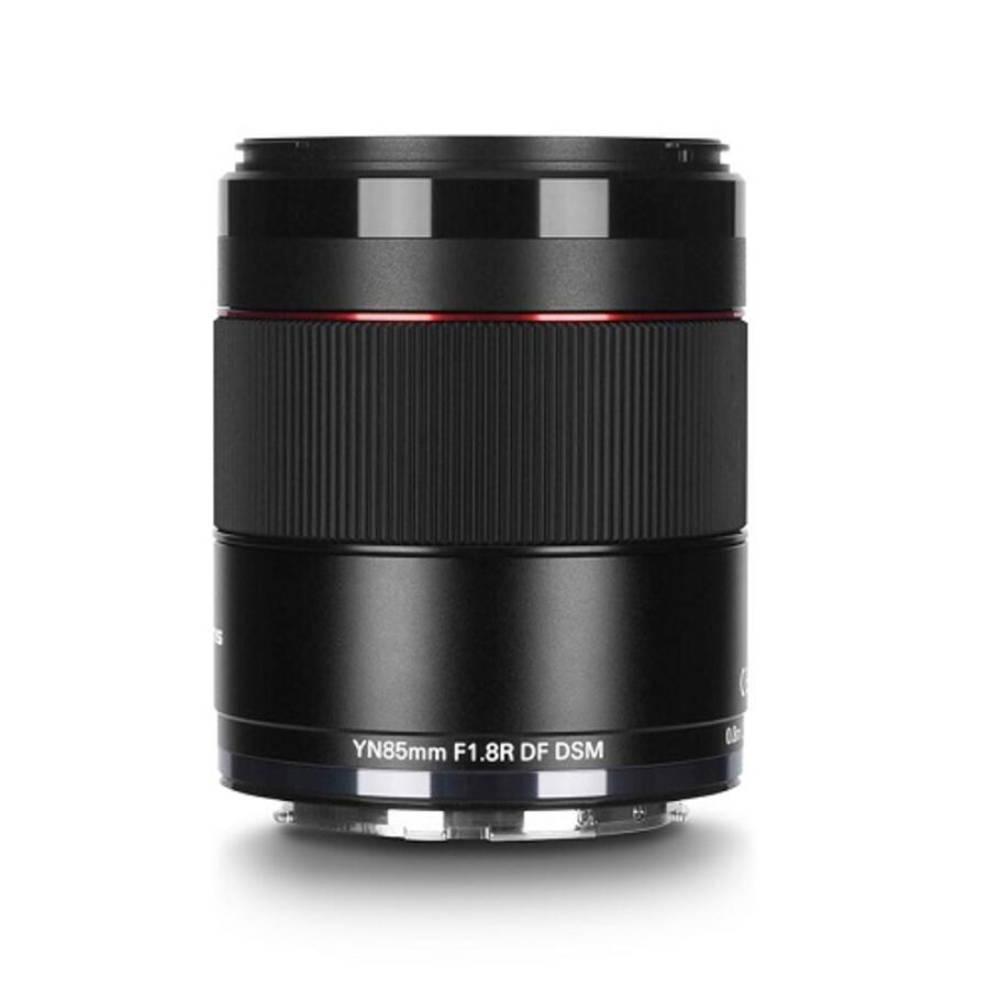 Yongnuo YN 85mm f/1.8R DF DSM Lens for Canon RF Announced