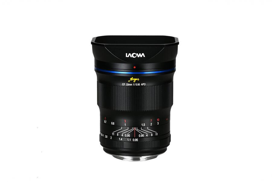 Laowa Argus 33mm f/0.95 CF APO Lens for Canon RF Mount