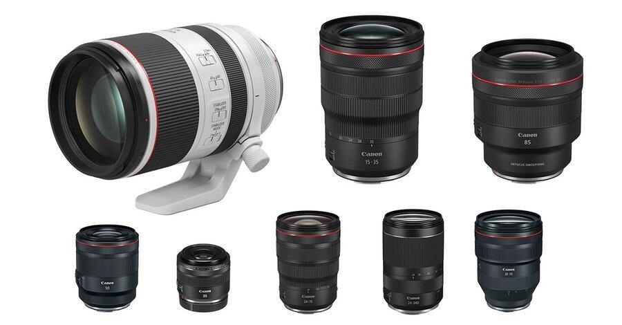 Best Canon RF Lenses