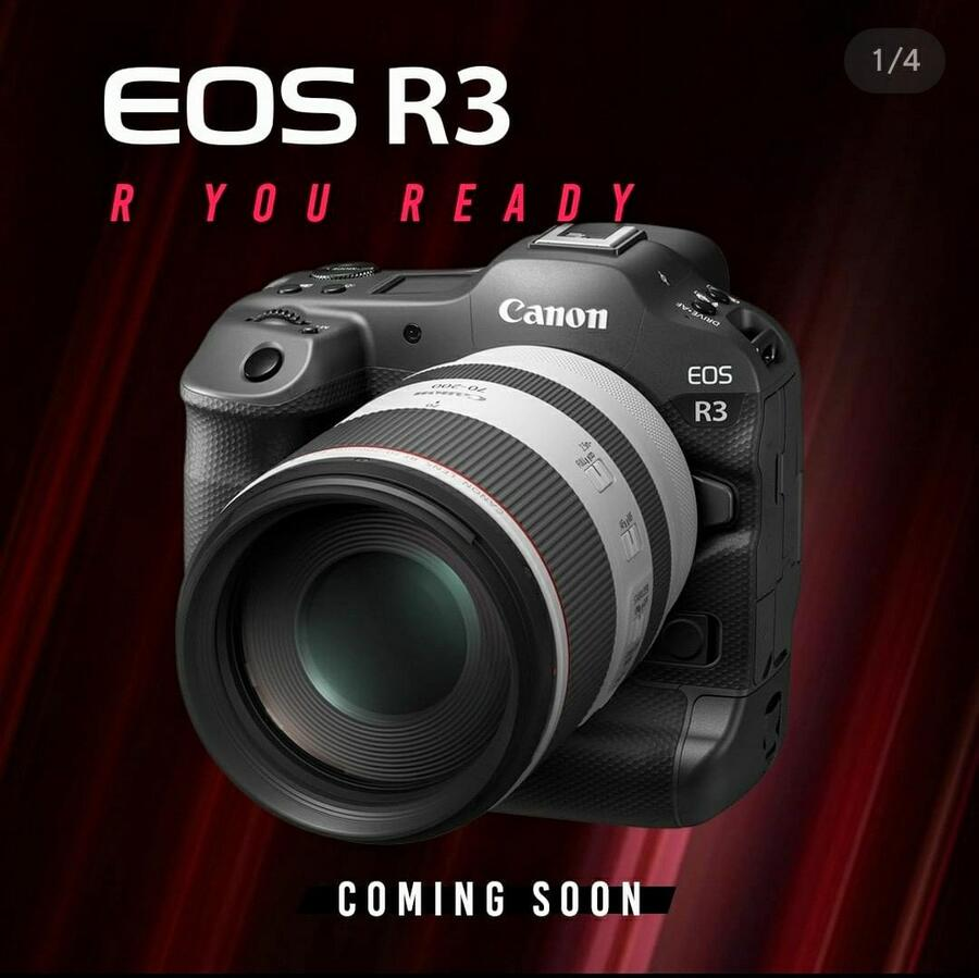 Canon EOS R3 to Cost $5,999, RF 16mm for $299, RF 100-400mm for $ 649, DM-E1D for $299, ST-E10 for $119, and AD-E1 for $39
