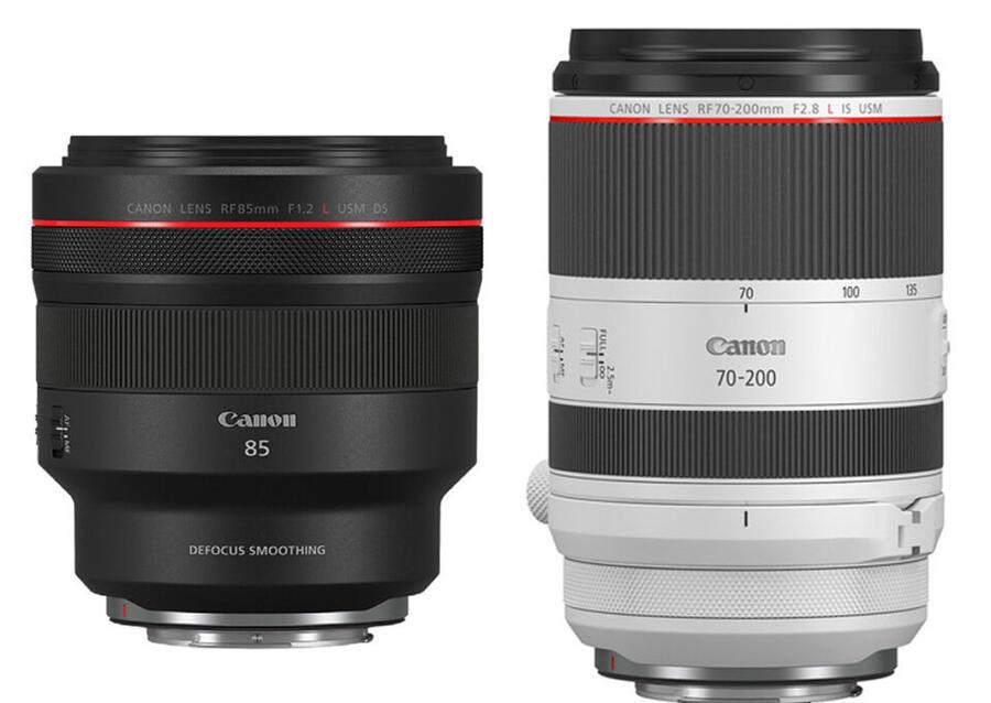 Canon RF 85mm f/1.2L vs RF 70-200mm f/2.8L Depth of Field Comparison