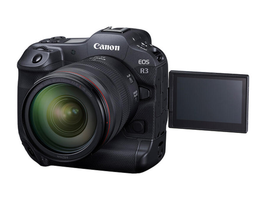 First Canon EOS R3 Hands on Review