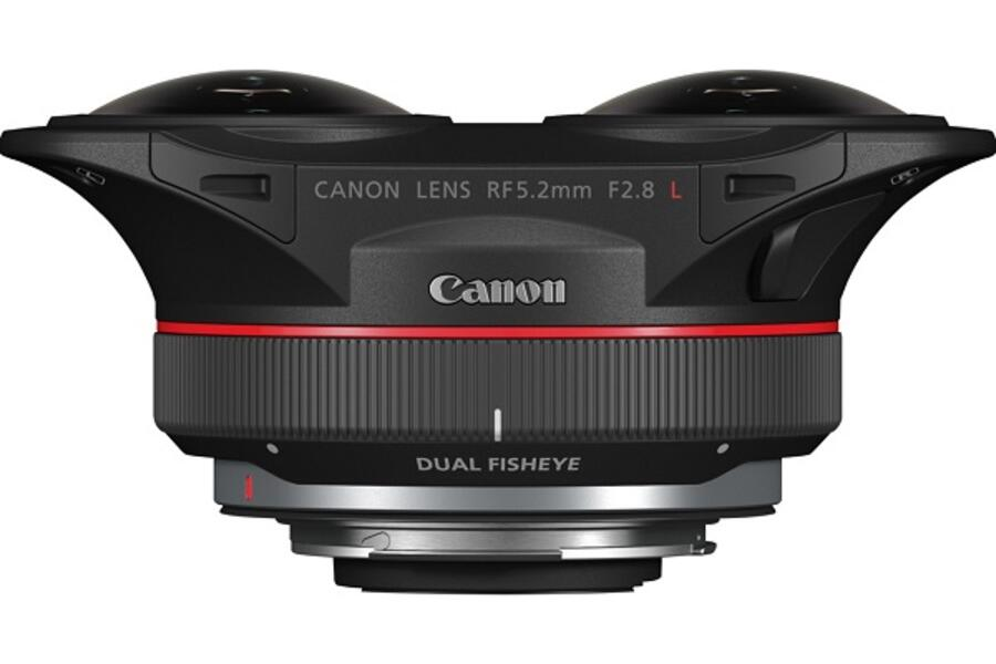 Canon RF 5.2mm f/2.8L Dual Fisheye Lens in Short Supply