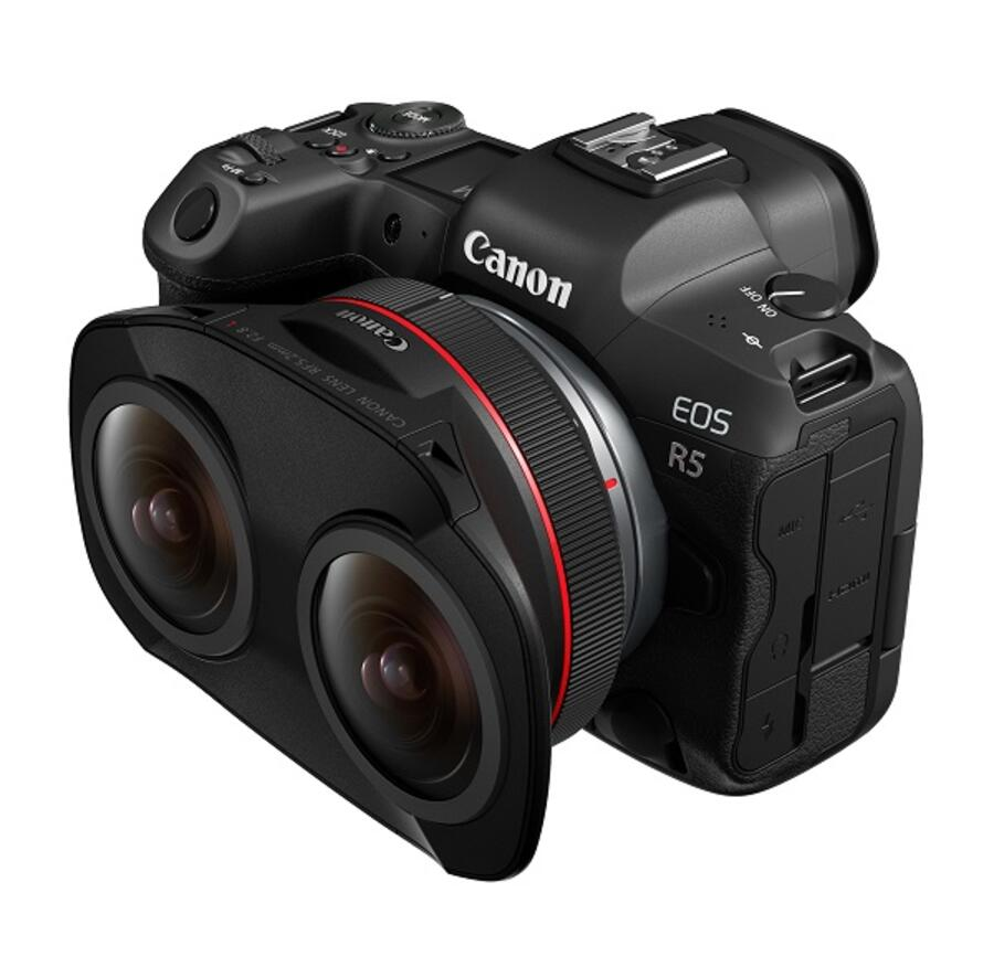 First Footage From Canon RF 5.2mm F2.8 L Dual Fisheye Lens